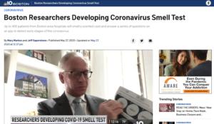 Boston Researchers Developing Coronavirus Smell Test